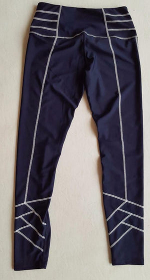 Women's fitness tights (navy or black)