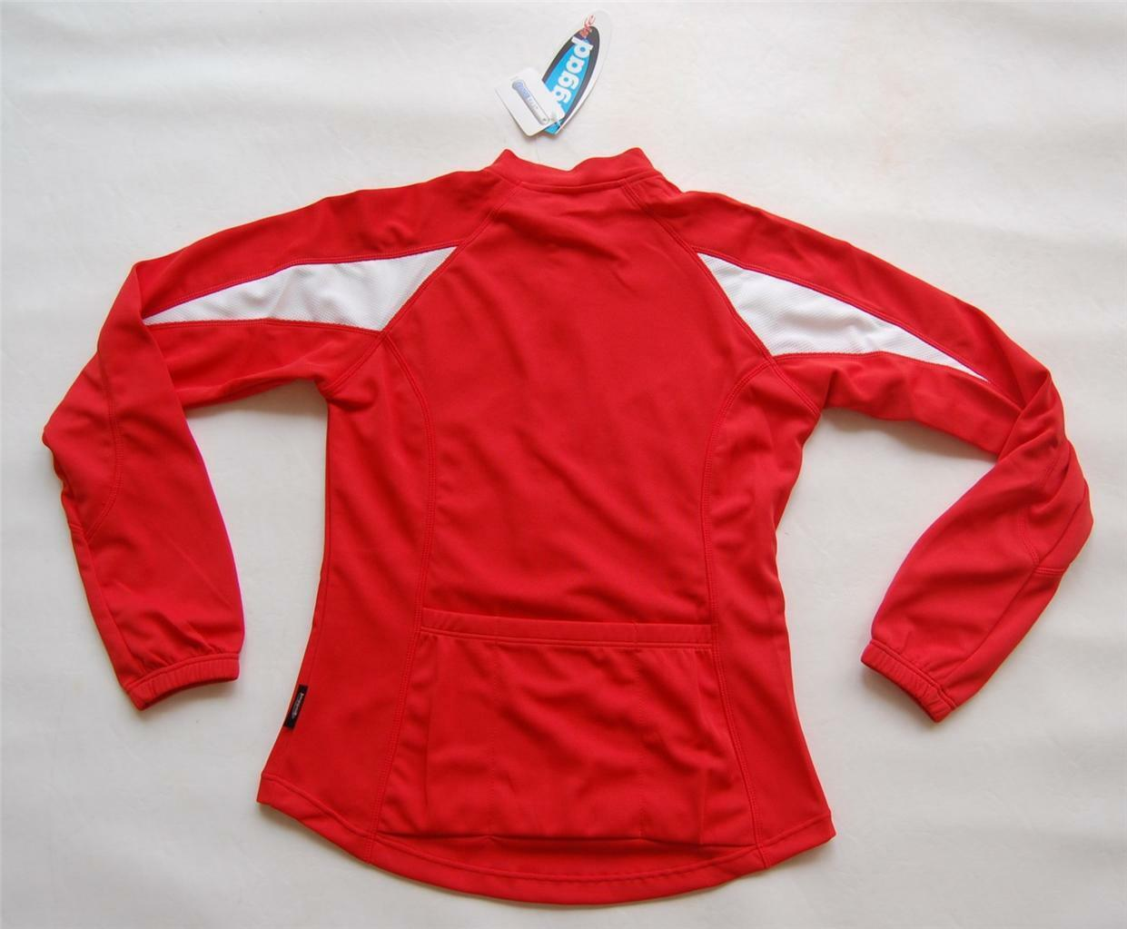 Sport, Cycling Bike, Clothing Jersey Top Long Sleeve Ladies Women (RED)