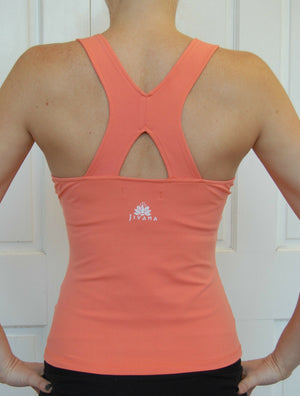 Sporting Clothing Gym Fitness Yoga Top Ladies Womens (Coral)*