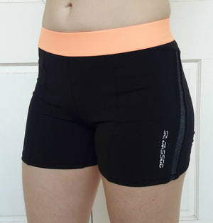 Women's spandex bike pants (assorted colours)