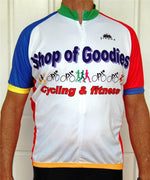 Sporting Clothing Cycling Bike Jersey Men (Multicoloured)