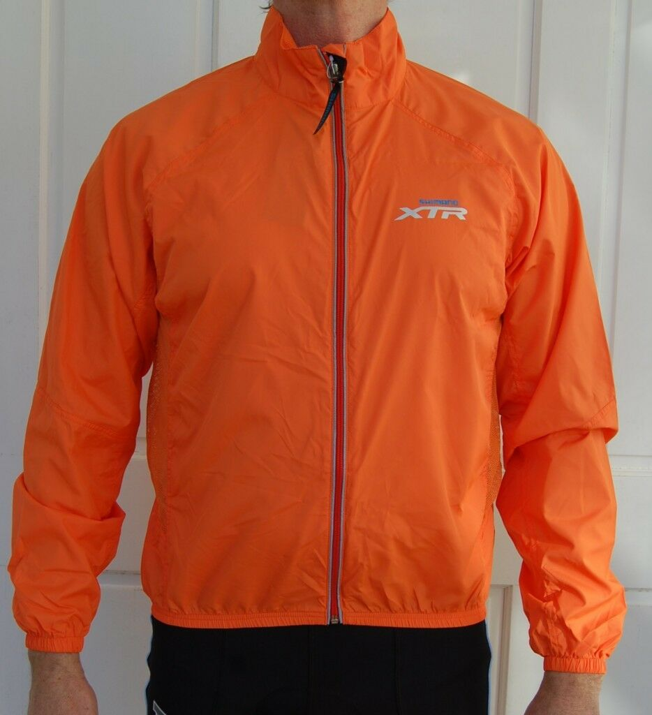 Sporting, Cycling Bike, Clothing, Jacket Unisex (Orange)