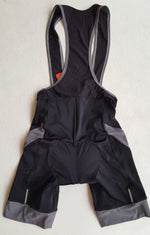 CYCLING BIKE BIB KNICKS SHORTS MENS UNI SIZE M  BLACK with Grey Top Quality