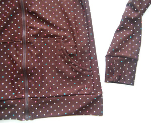 Womens Sports Clothing (Brown with coloured spots)