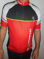 Sporting Clothing Cycling Bicycle Jersey Mens (Red/Black/White/Yellow)
