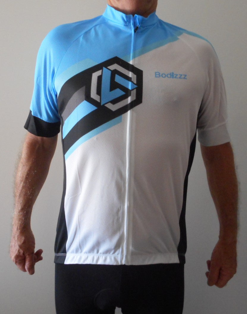 Sport, Clothing  Jersey Unisex (White & Blue)