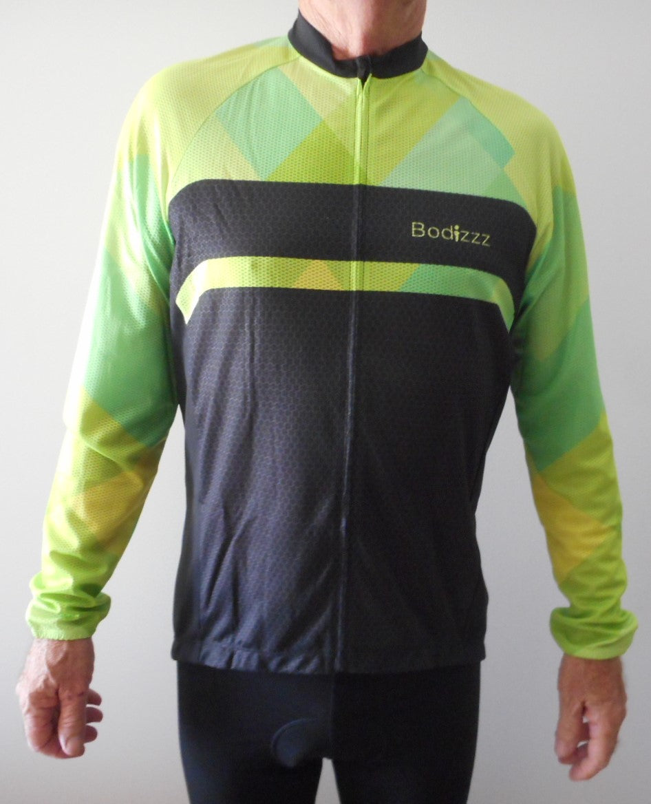 Sport, Clothing  Jersey Mens (Green & Black)
