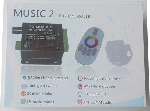 LM- MUSIC 2 LED CONTROLLER