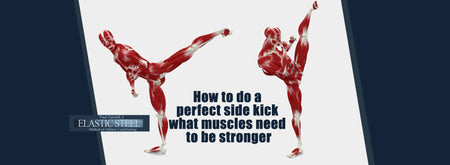 How To Do A Perfect Side Kick. You need two different types of Strength.