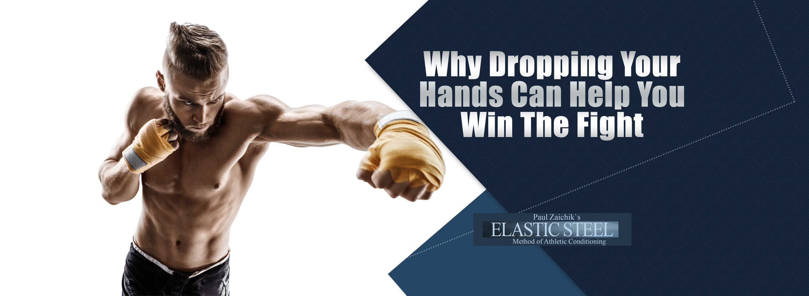 Why dropping your hands can help you win the fight