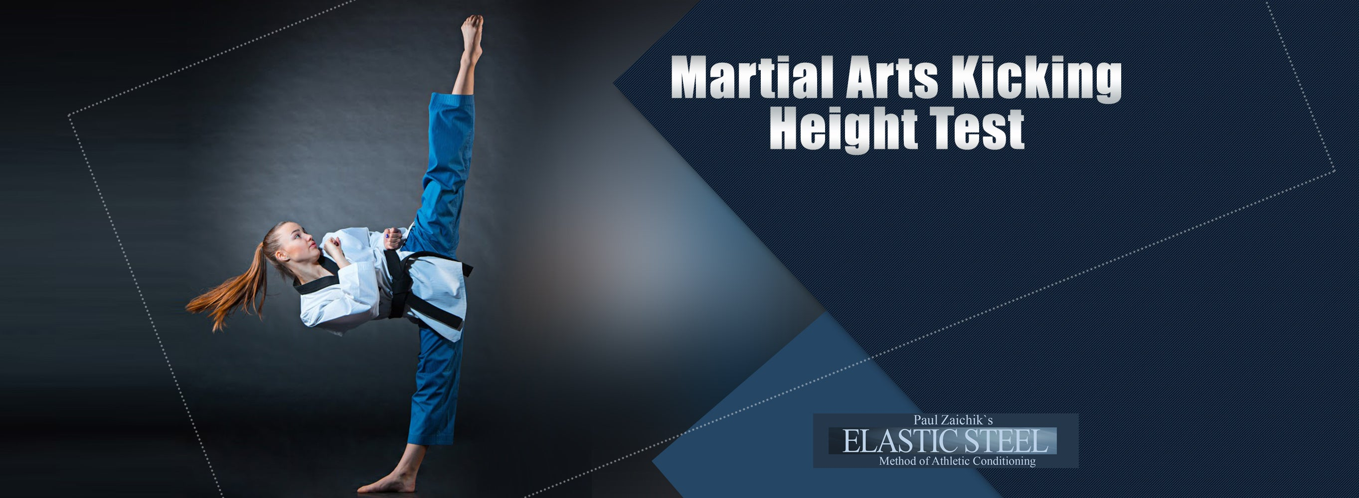 Martial Arts Kicking Height Test