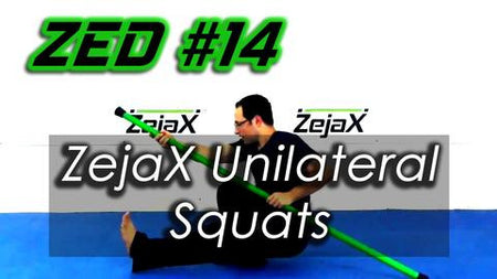 ZED #14 - ZejaX Unilateral Squats with no wall support