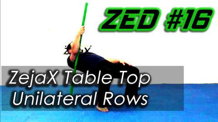 ZED #16 - Zejax Table Top Unilateral Rows