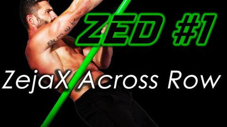 ZED #1 Zejax Across Row Bodyweight Training Revolution