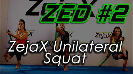 ZED #2 - Zejax Unilateral Squat, Total Bodyweight Training