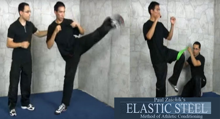 kicking kicks elasticsteel combo paul zaichik