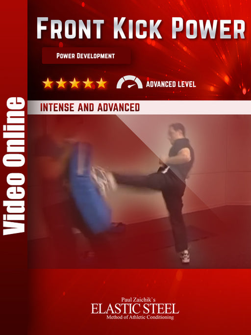 Push Front Kick: Power Development