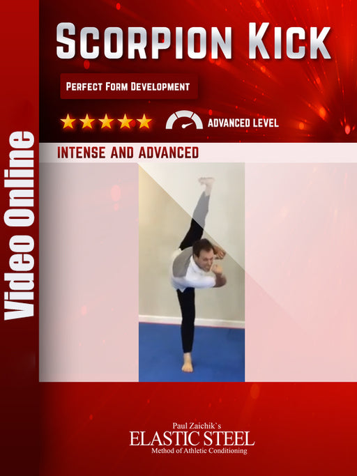 Scorpion Kick: Perfect form Development