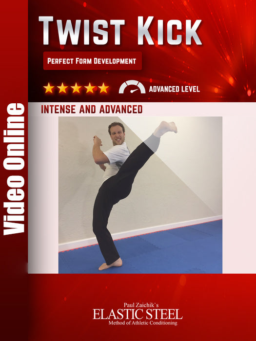 Twist Kick Technical Kicking Leg Development