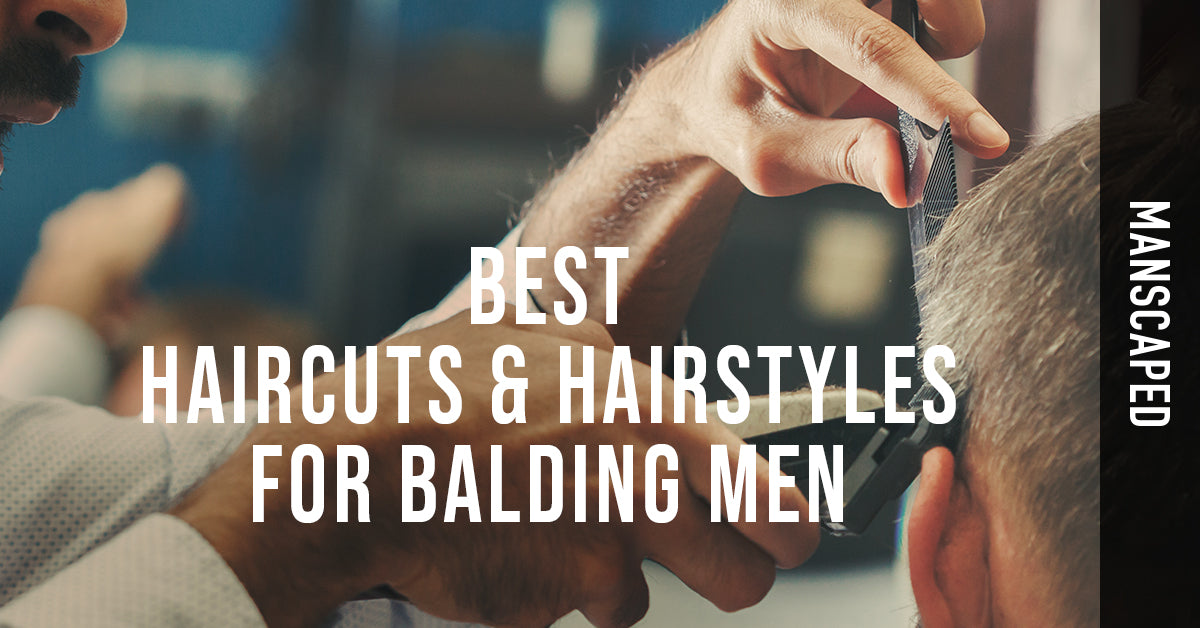 Best Haircuts & Hairstyles for Balding Men