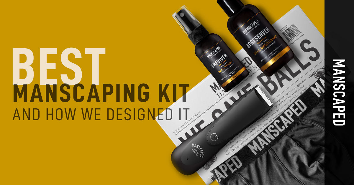 Best Manscaping Kit and How We Designed It