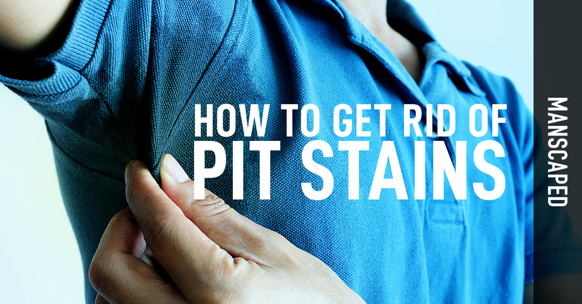 How To Get Rid of Pit Stains