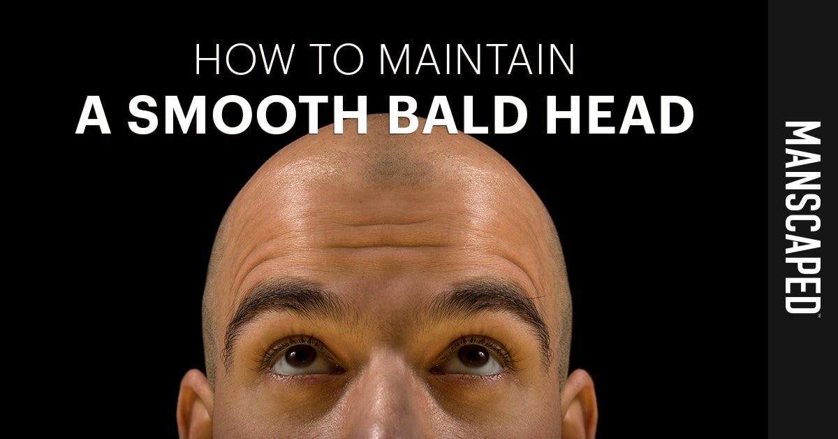 How to Maintain a Smooth Bald Head