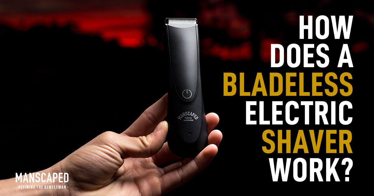 How Does a Bladeless Electric Shaver Work?
