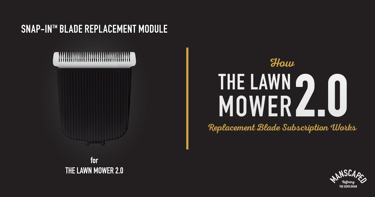 How The Lawn Mower 2.0 Replacement Blade Subscription Works