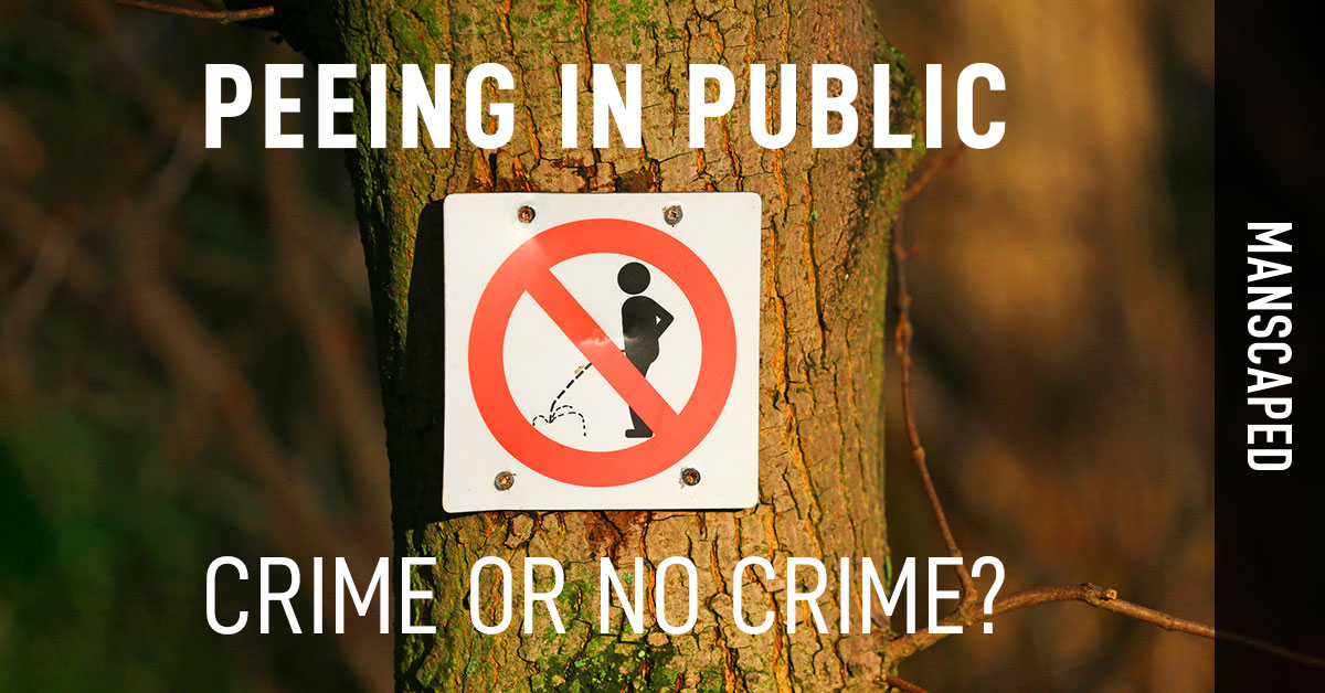 Peeing in Public: Crime or No Crime?