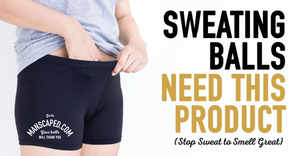 Sweating Balls Need This Product {Stop Sweat To Smell Great}