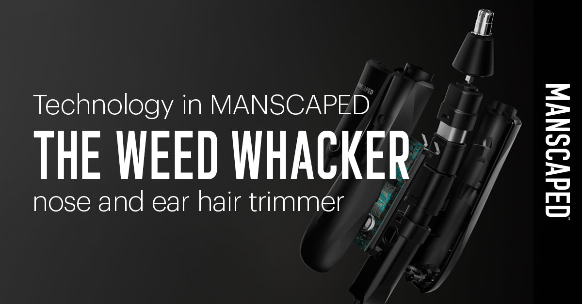 Technology in MANSCAPED™ The Weed Whacker™ Trimmer