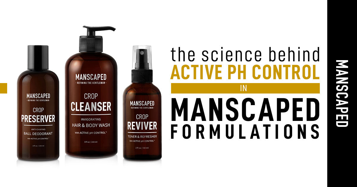 The Science Behind Active pH Control in Manscaped Formulations