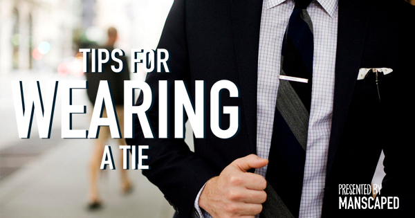 Tips For Wearing A Tie