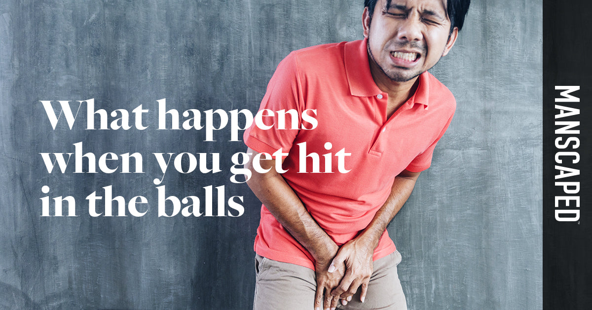 What Happens When You Get Hit in the Balls - Why It Hurts