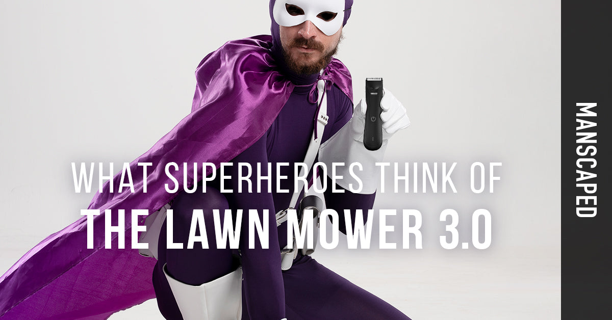 What Superheroes Think Of The Lawn Mower 3.0