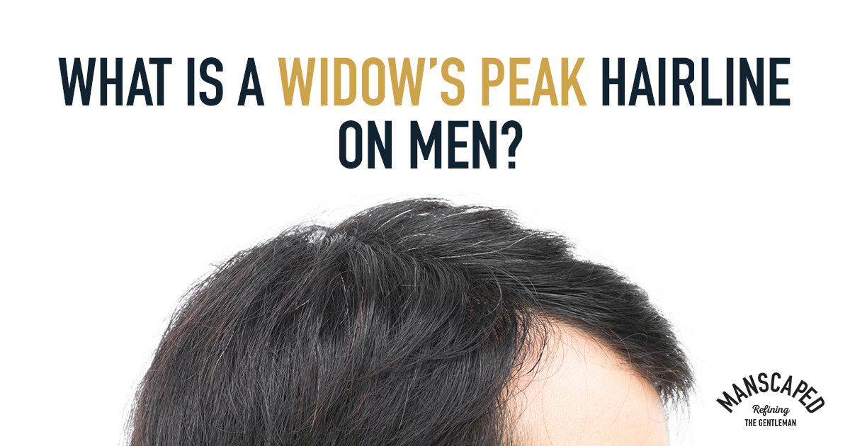 What Is a Widow's Peak Hairline on Men?