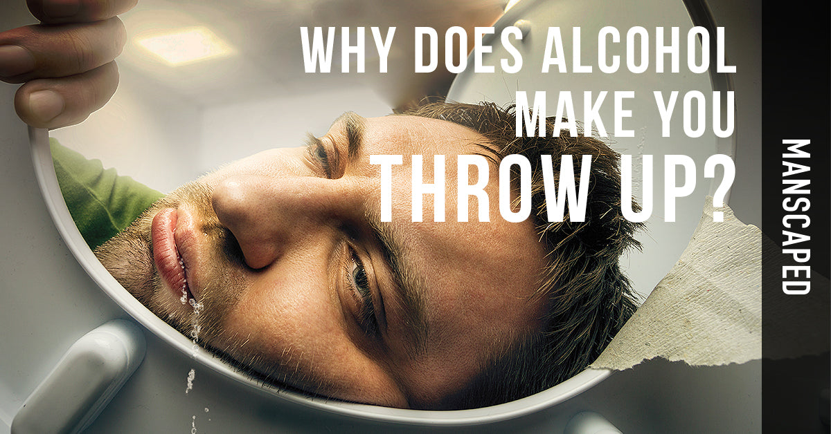 Why Does Alcohol Make You Throw Up?