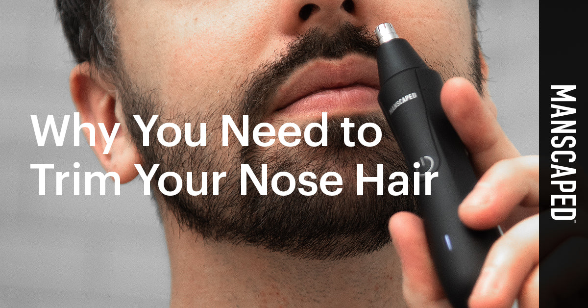 How To Trim Your Nose Hair And Why You Need To