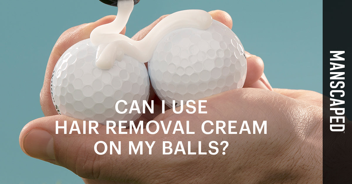 Can I Use Hair Removal Cream on My Balls?