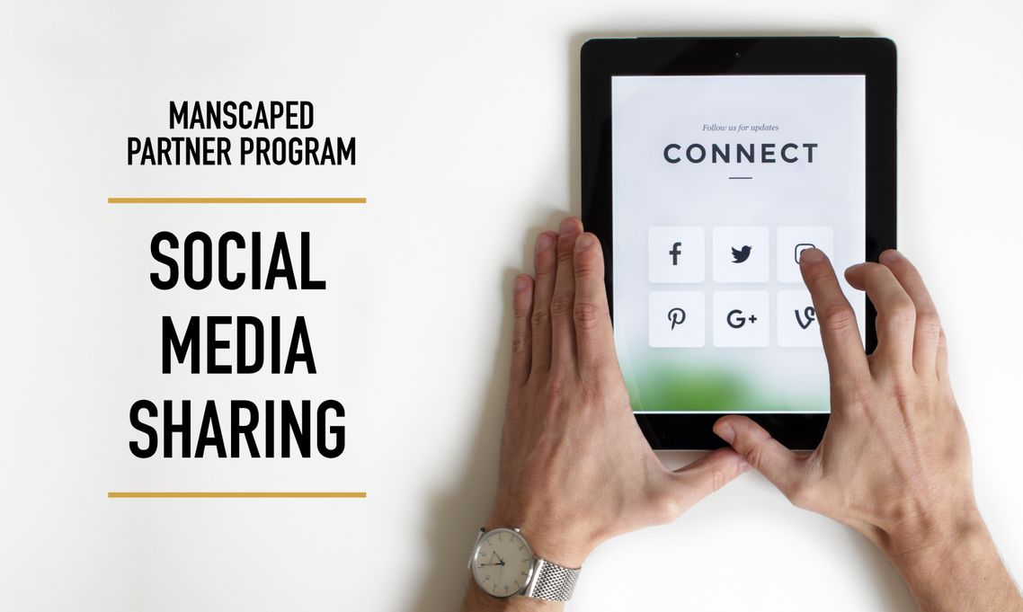 Manscaped Partner Program Social Media Sharing