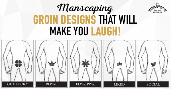 Manscaping Groin Designs That Will Make You Laugh