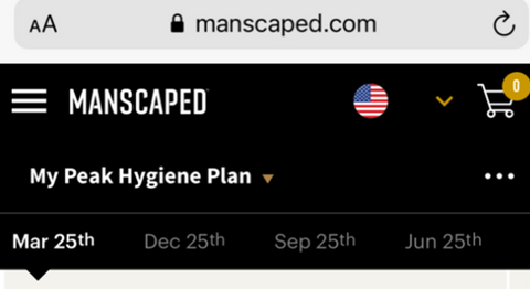 Click the shipment date you would like to edit