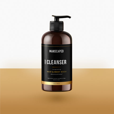 Crop Cleanser With Gold Bottom