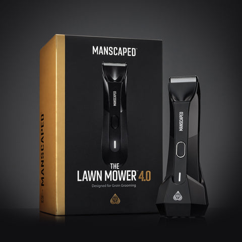 The Lawn Mower 4.0 Next To The Packaging