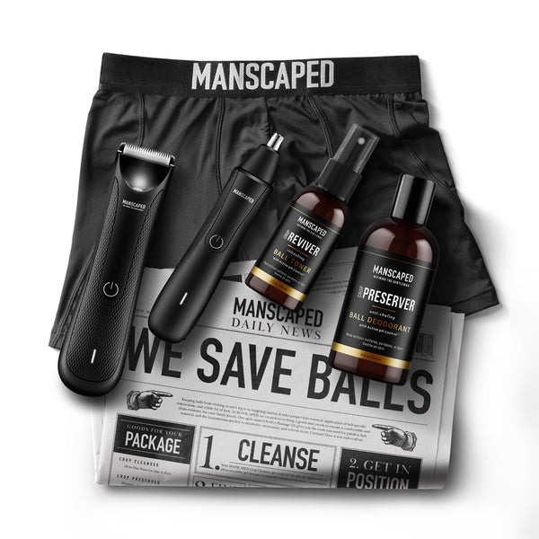 The MANSCAPED Performance Package