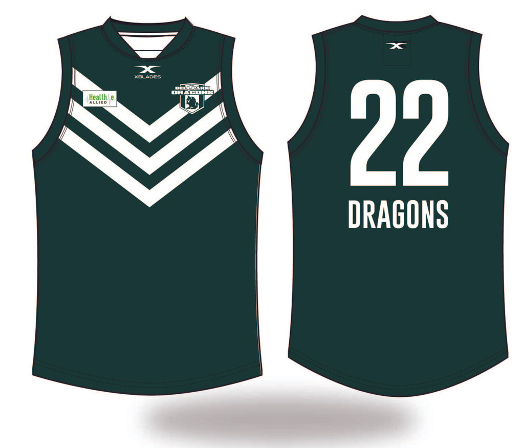 Bell Park Dragons Reversible Training Jumper 19 (Juinior's)