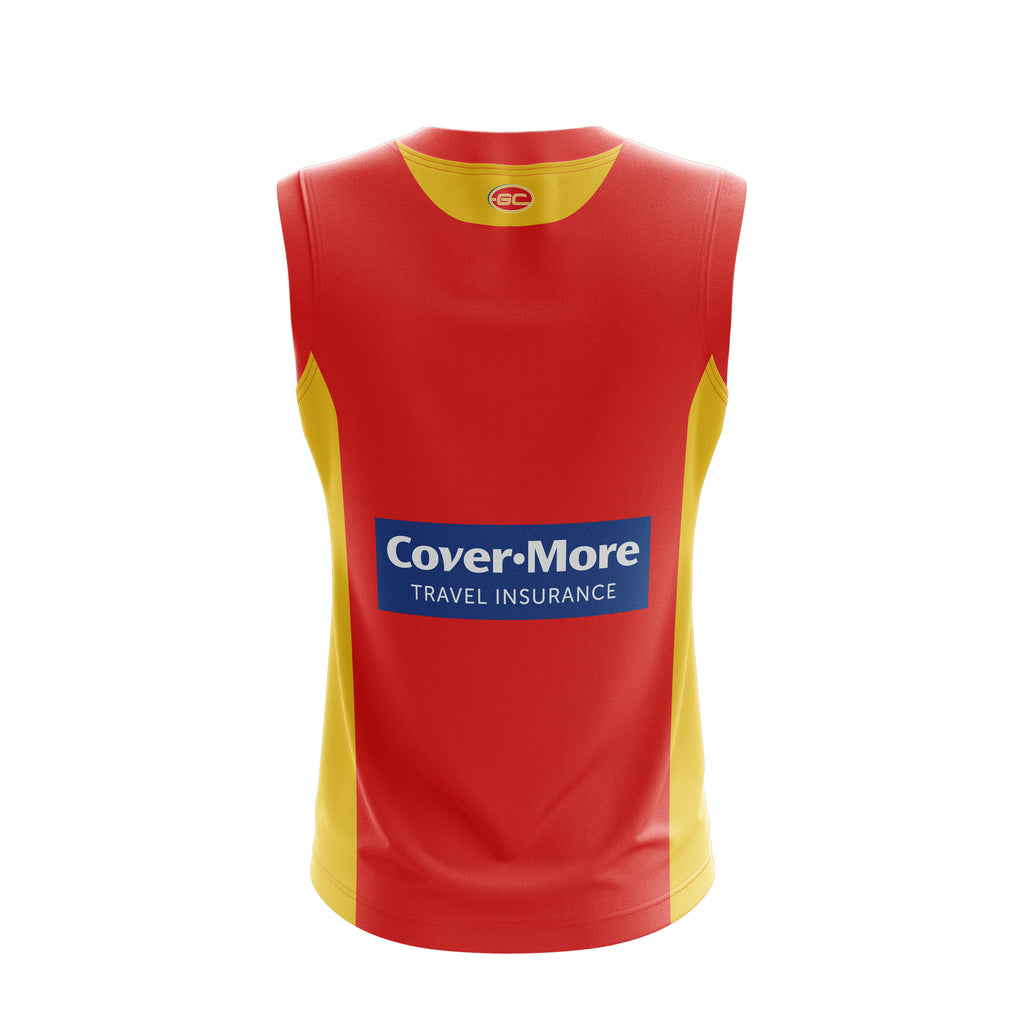 Gold Coast Suns Replica Home Guernsey 19