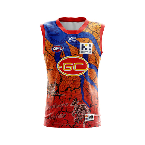 Gold Coast Suns Replica Indigenous Guernsey 19