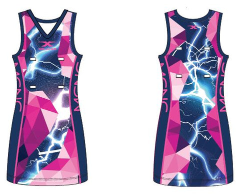 Malvern Central Netball Club Netball Dress 19